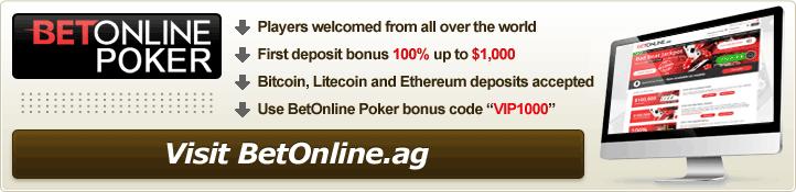 BetOnline Poker Review - Best Bitcoin Welcome Bonus