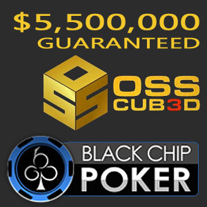 OSS CUBED Tournament Series at Black Chip Poker