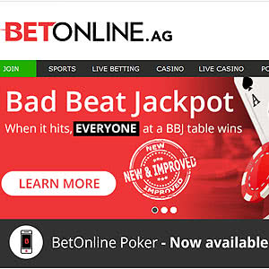 BetOnline Bad Beat Jackpot