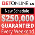 BetOnline Launches New Weekend MTT Schedule with $250K GTD