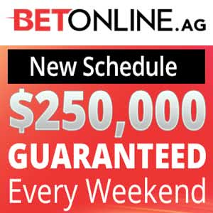 $250K GTD Tourneys at BetOnline Poker