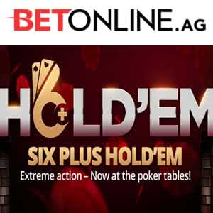 6+ Holdem at BetOnline